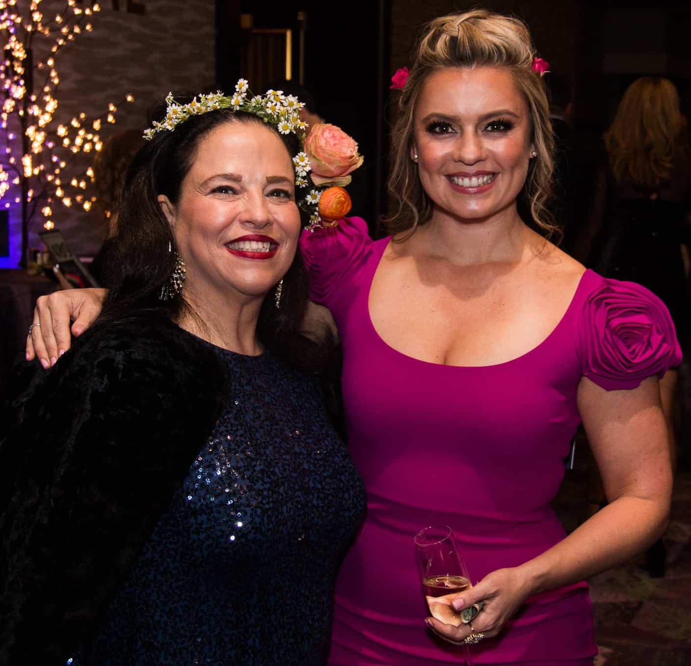 Monica Peraza and Kristi Gonzales