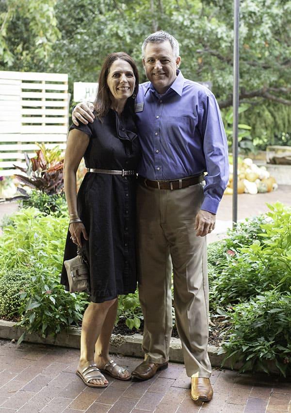 Nila and Brad Stewart