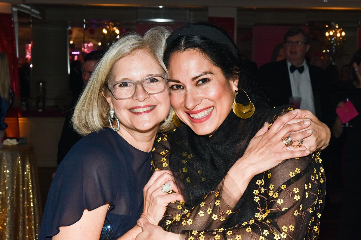 Pam Rosser and Angelina Mata