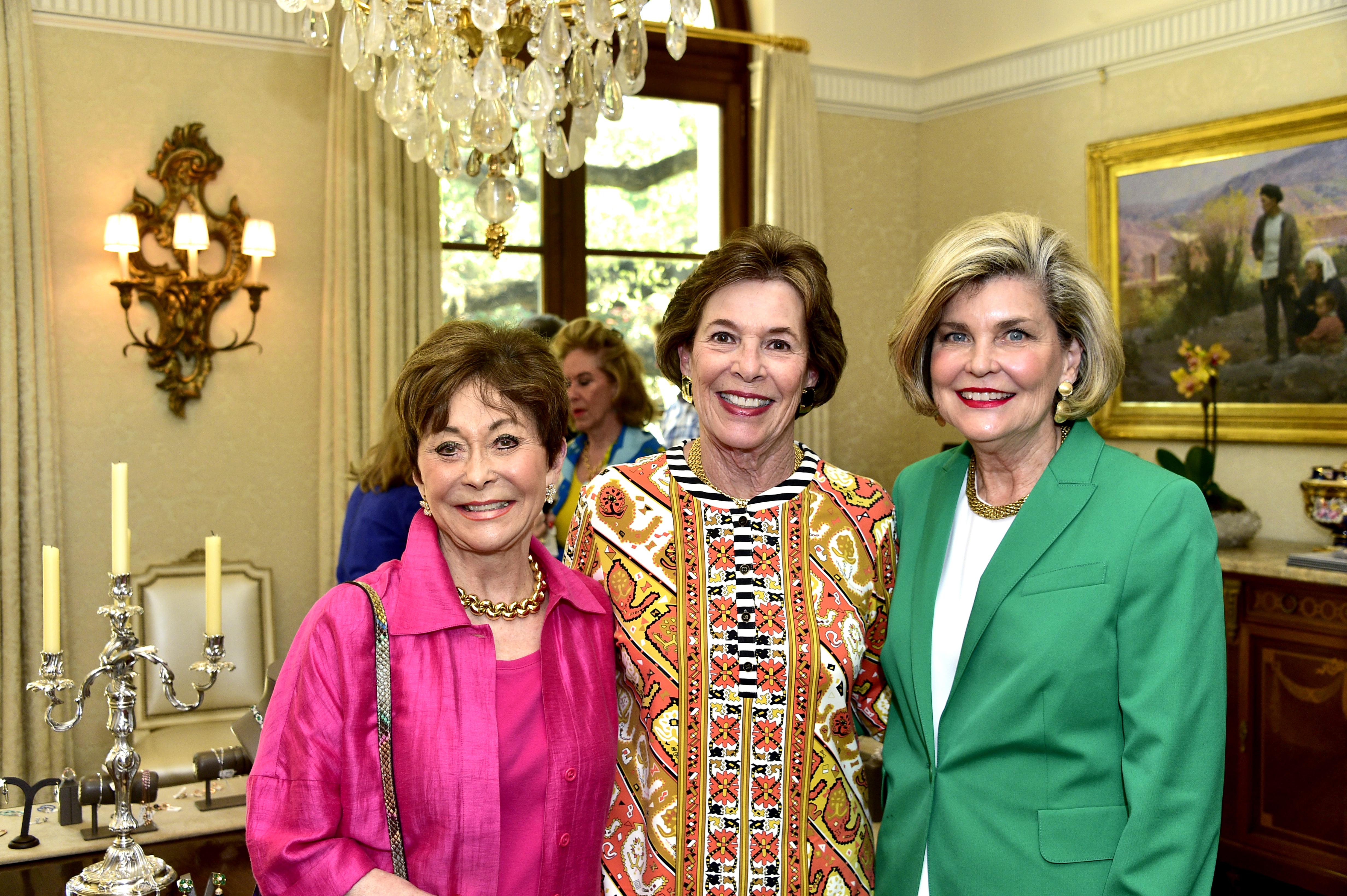 Patty Hayes, Barbara Wood and Carolyn Johnson
