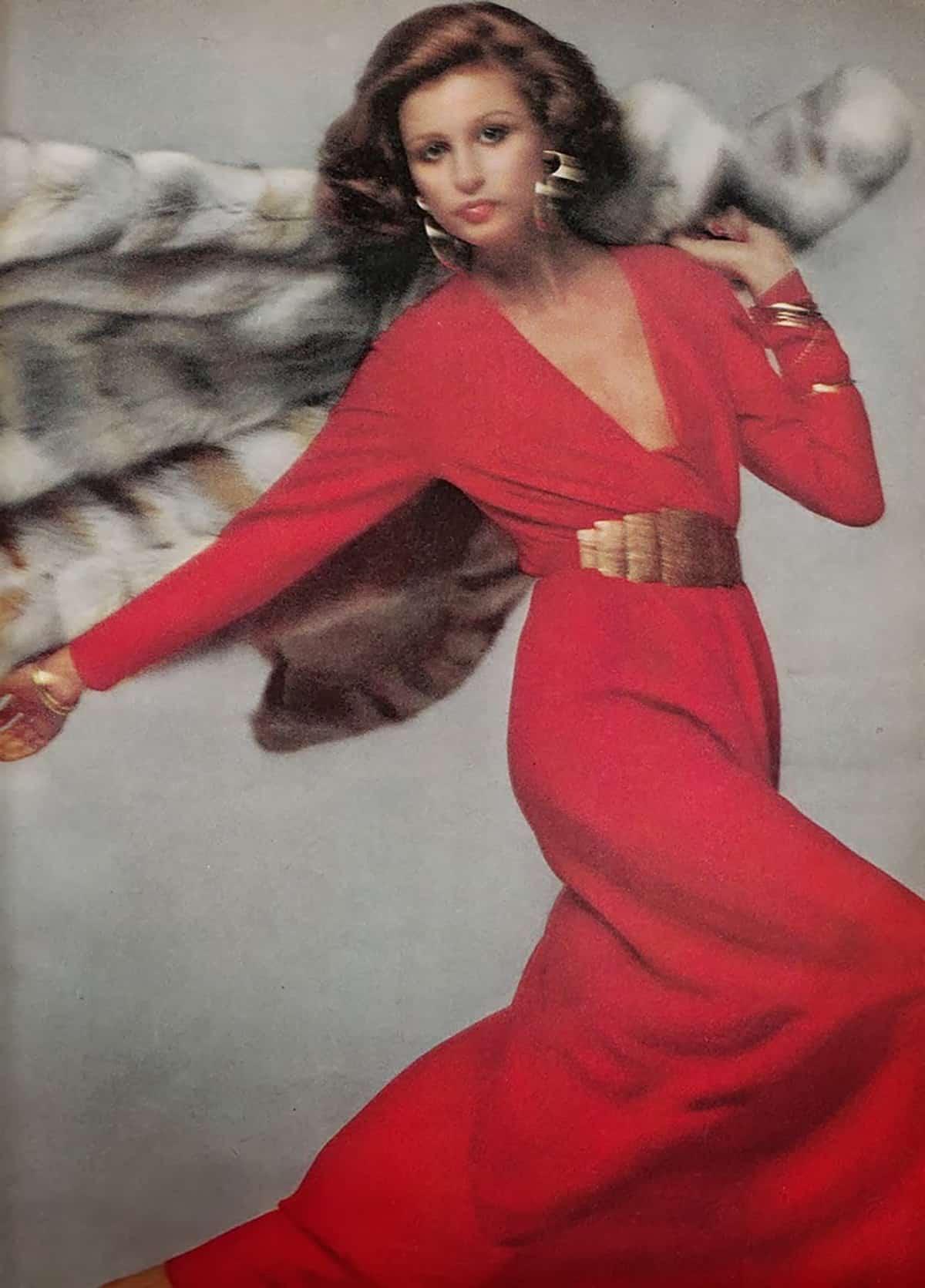 Pauline Trigere dress, 1973