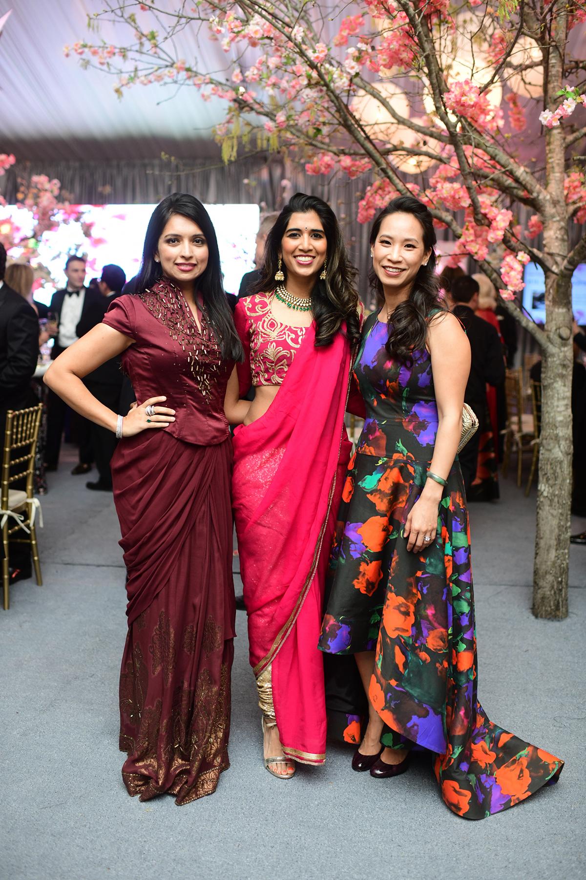 Payal Chana, Divya Brown and Janae Tsai