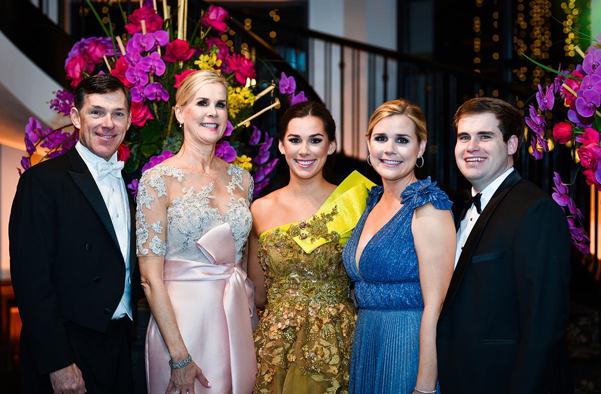 Philip and Lisa Carrington, Emily Carrington & Caroline and Cullen Guglielmo