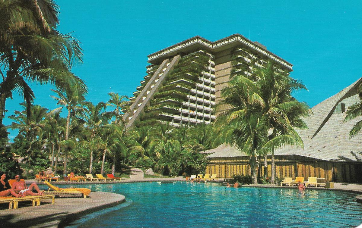 Princess Hotel, Acapulco, 1960s