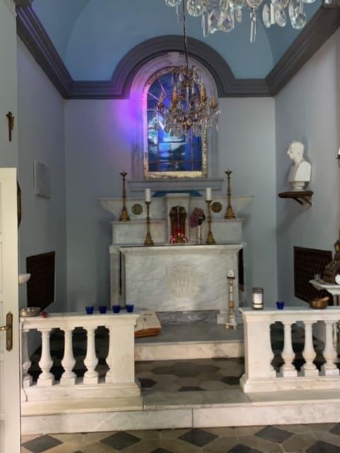 Private chapel near Liguria