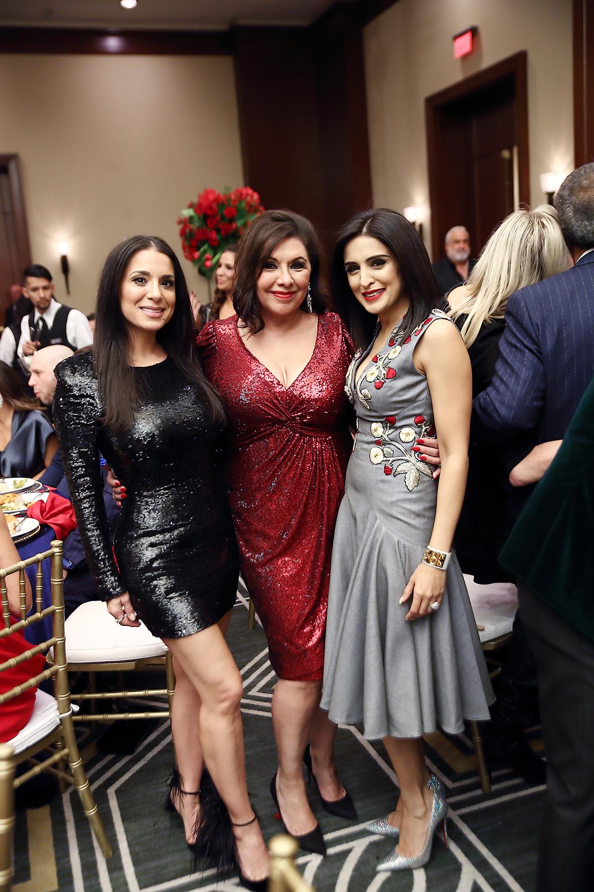 Rachel Bagwell, Debbie Festari and Sneha Merchant
