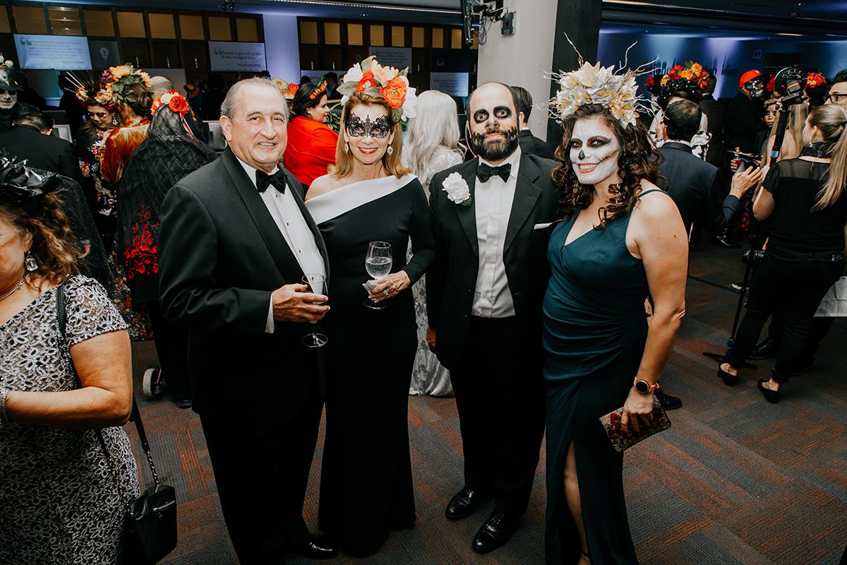 Ralph and Nancy Lehr & David and Meredith Alvarez