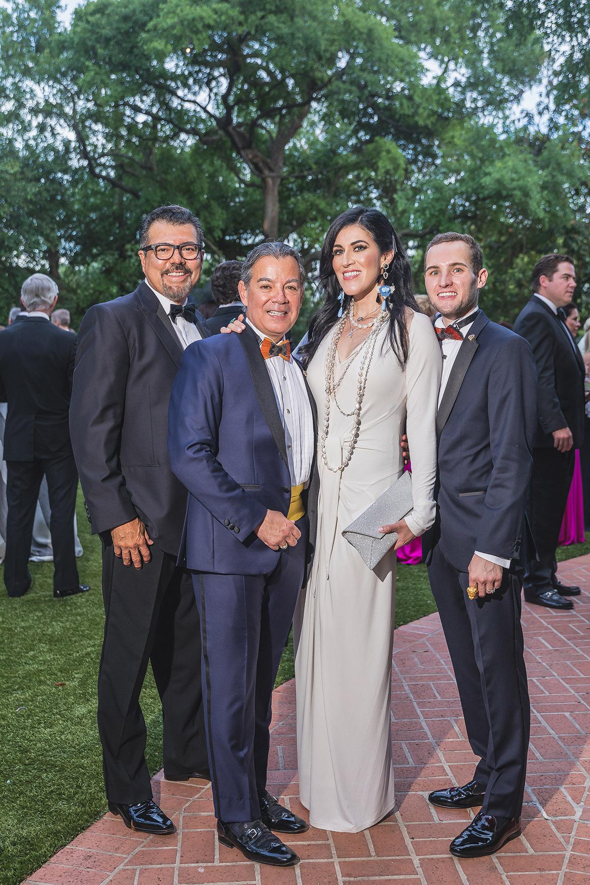 Ramiro Salazar, Epitacio Resendez, Xitlalt Herrera-Salazar and Hunter Henke