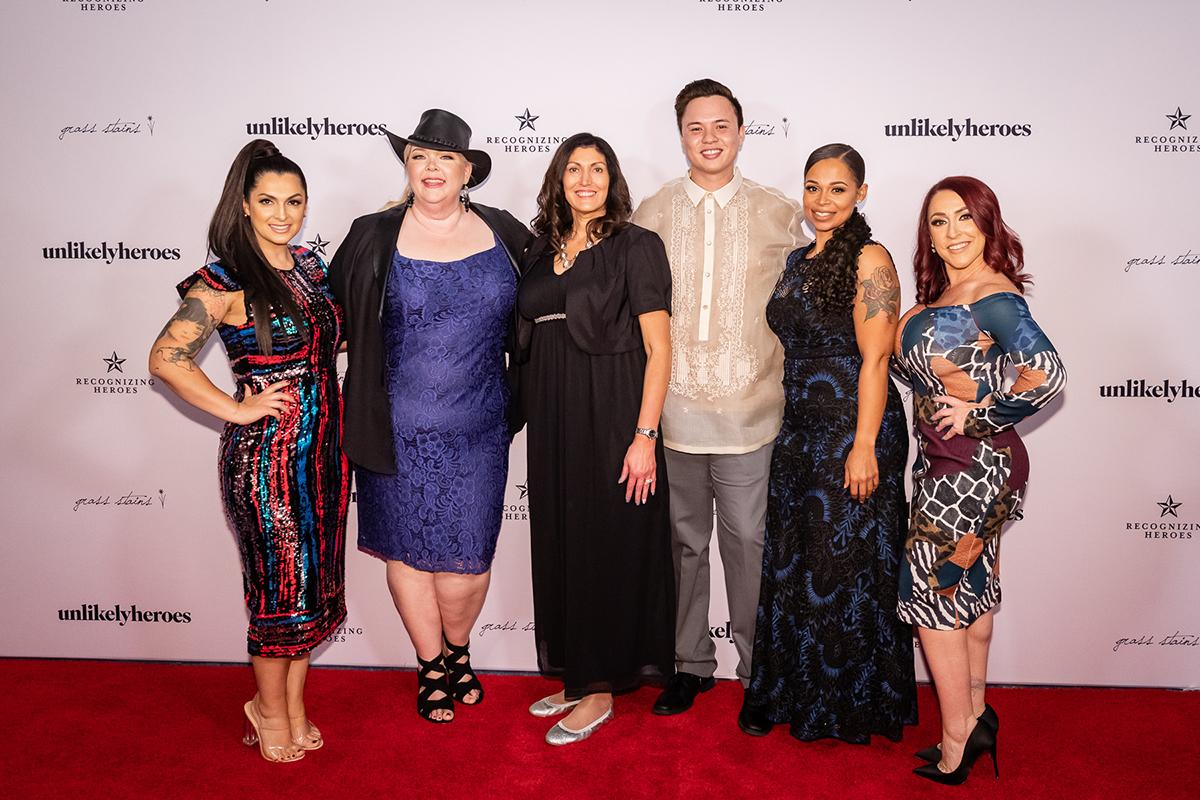 Rebecca Bender, Kathy Bryan, Jeri Moomaw, Erik Gray, Leah Albright and Rebekah Charleston