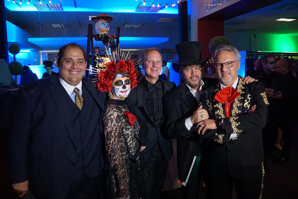 Rex Hausmann, Rebecca Barrera, Allen Barber, Judge Daniel Guerrero and Arturo Infante Almeida