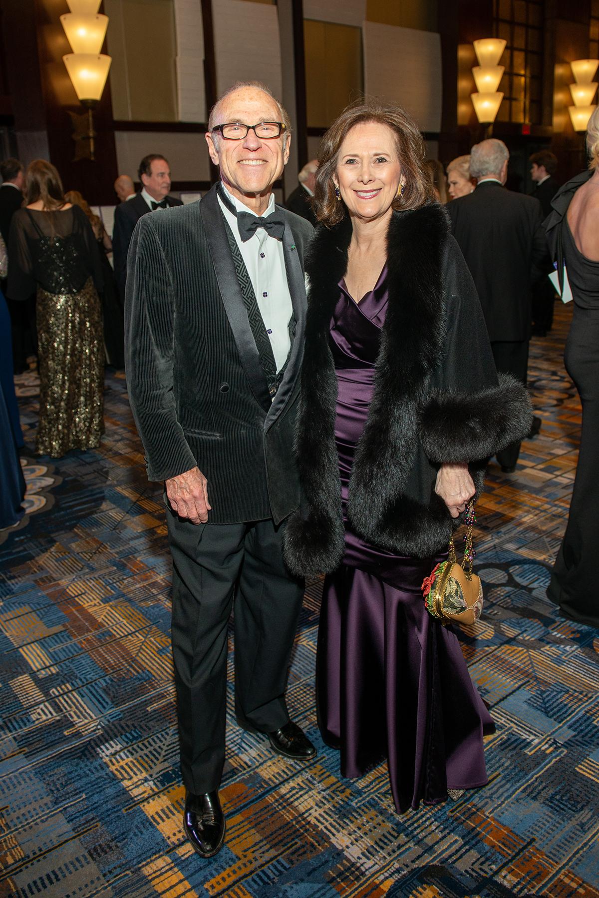 Robert Sakowitz and Franelle Rogers
