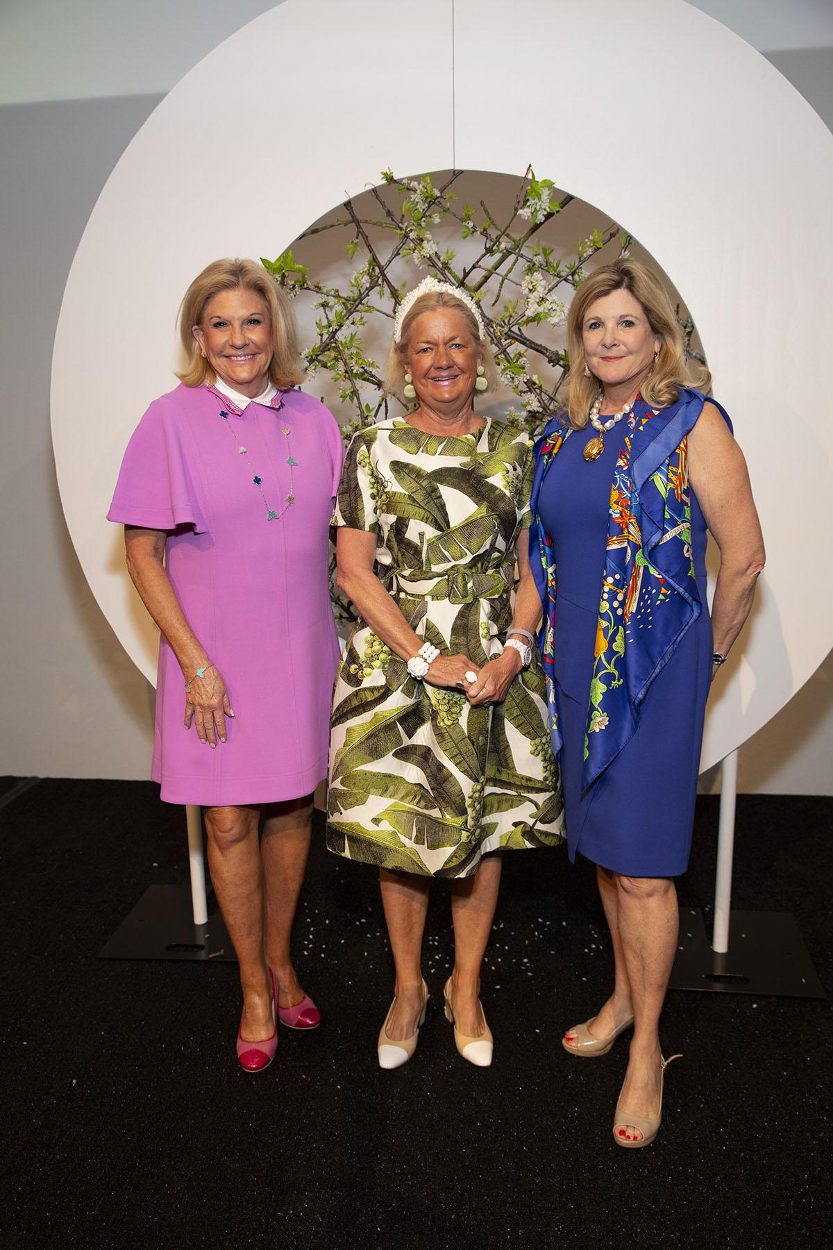 Rosanna Blalock, Kit Detering and Gretchen Lahourcade