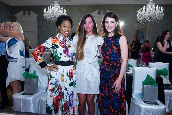 Roslyn Bazzelle Mitchell, Elizabeth Dwyer and Savanna Bowman