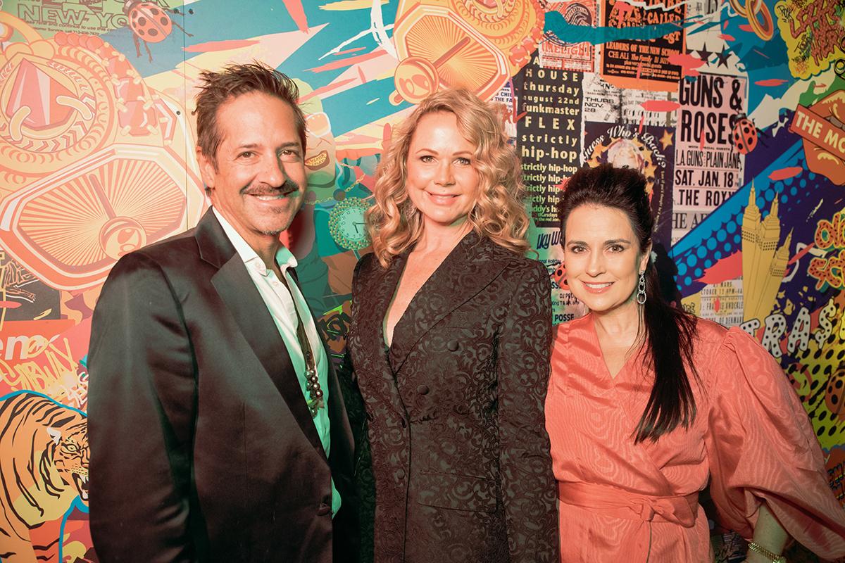 Rudy Choperena, Amy Stieren Smiley and Raven Labatt