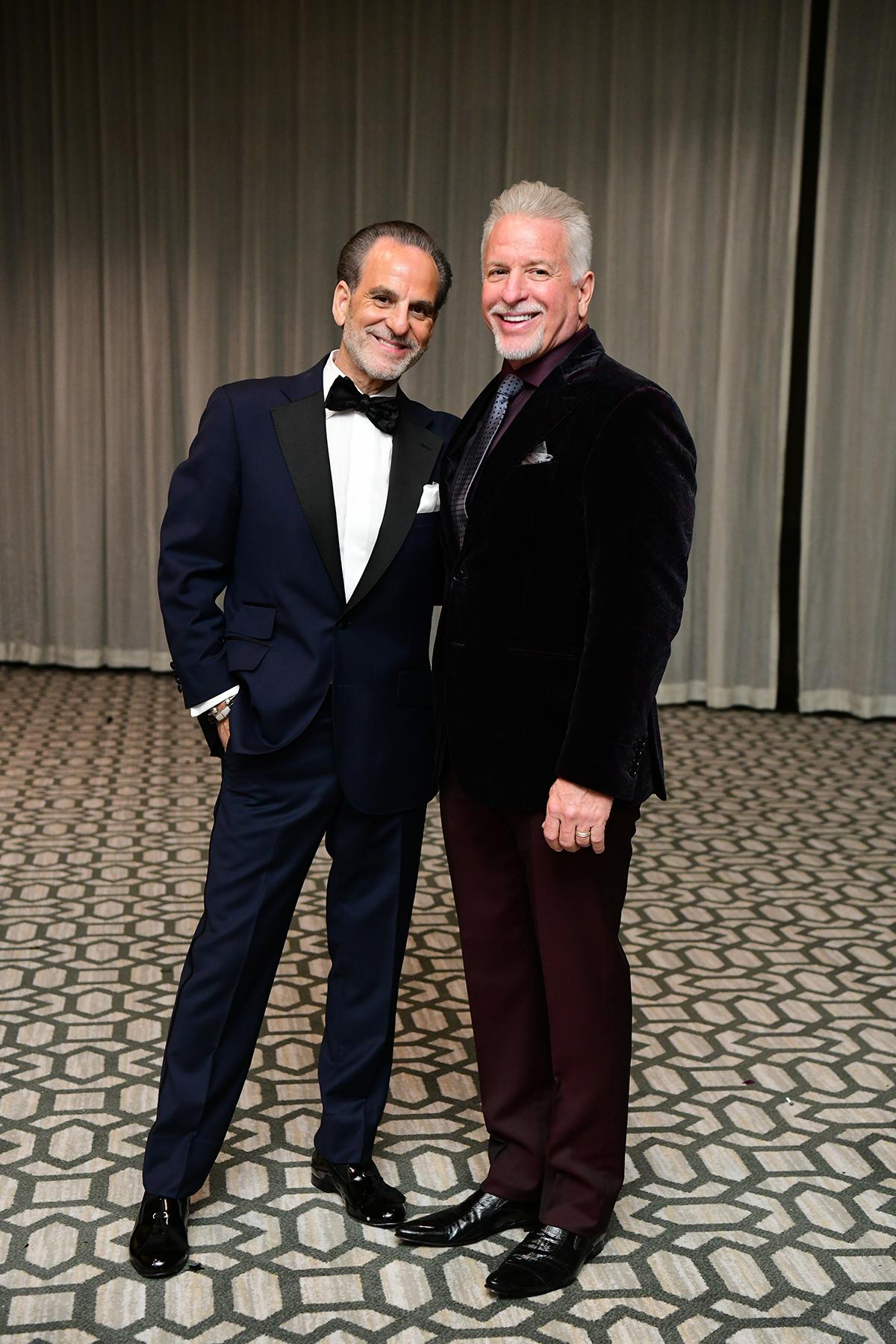 Rudy Festari and Danny Brown