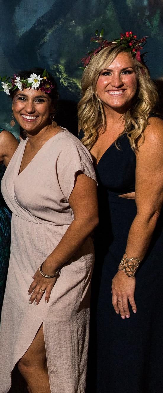 Salma Manzur and Ashley Brinkman