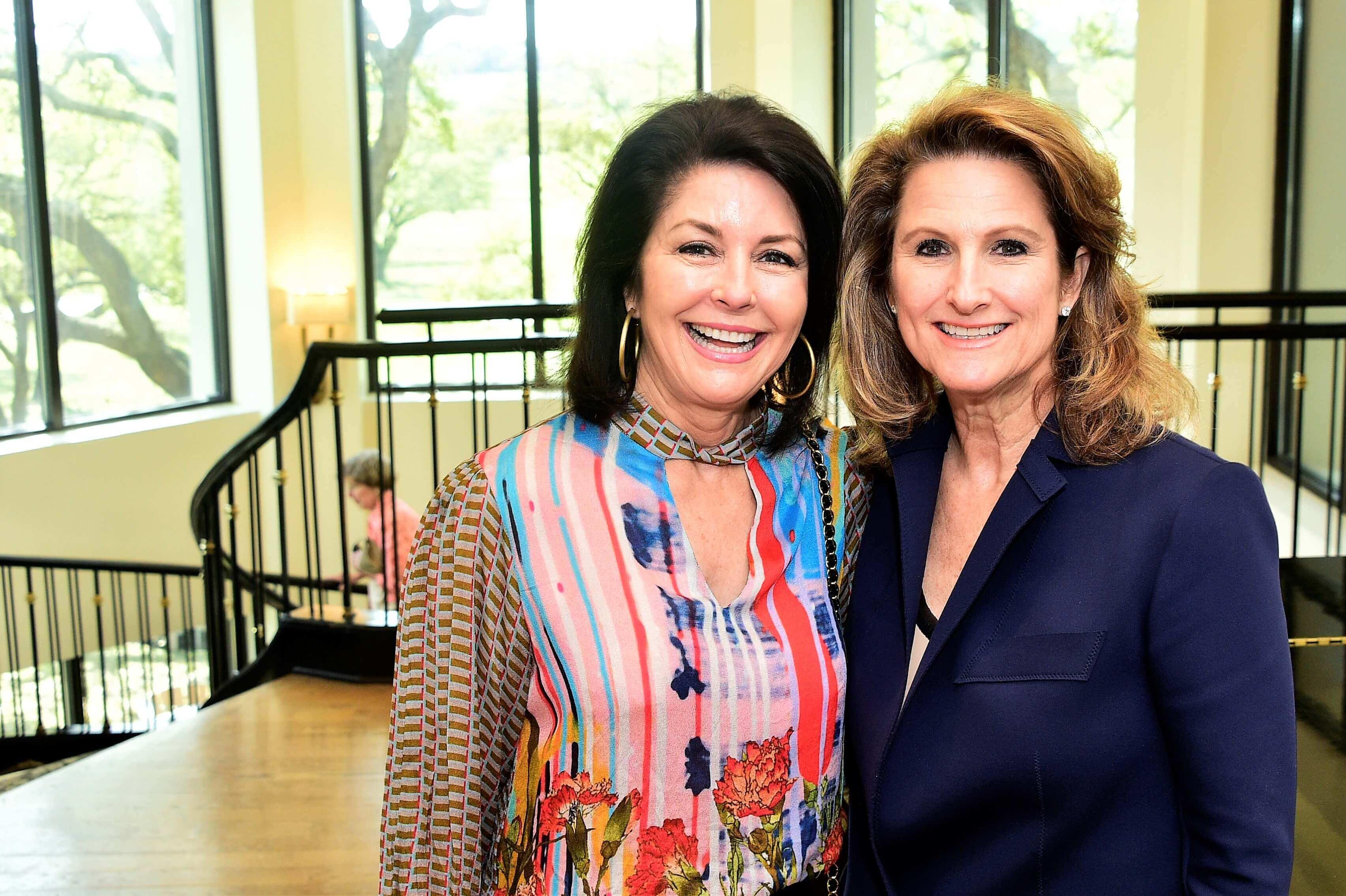 Sandra Wright and Julie Allen