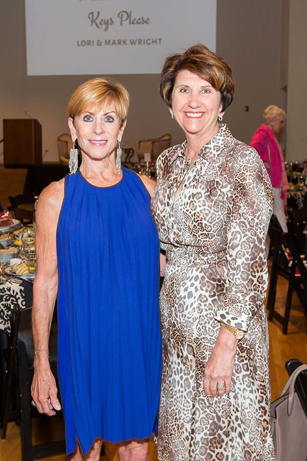 Sandy East and Lisa Dawson