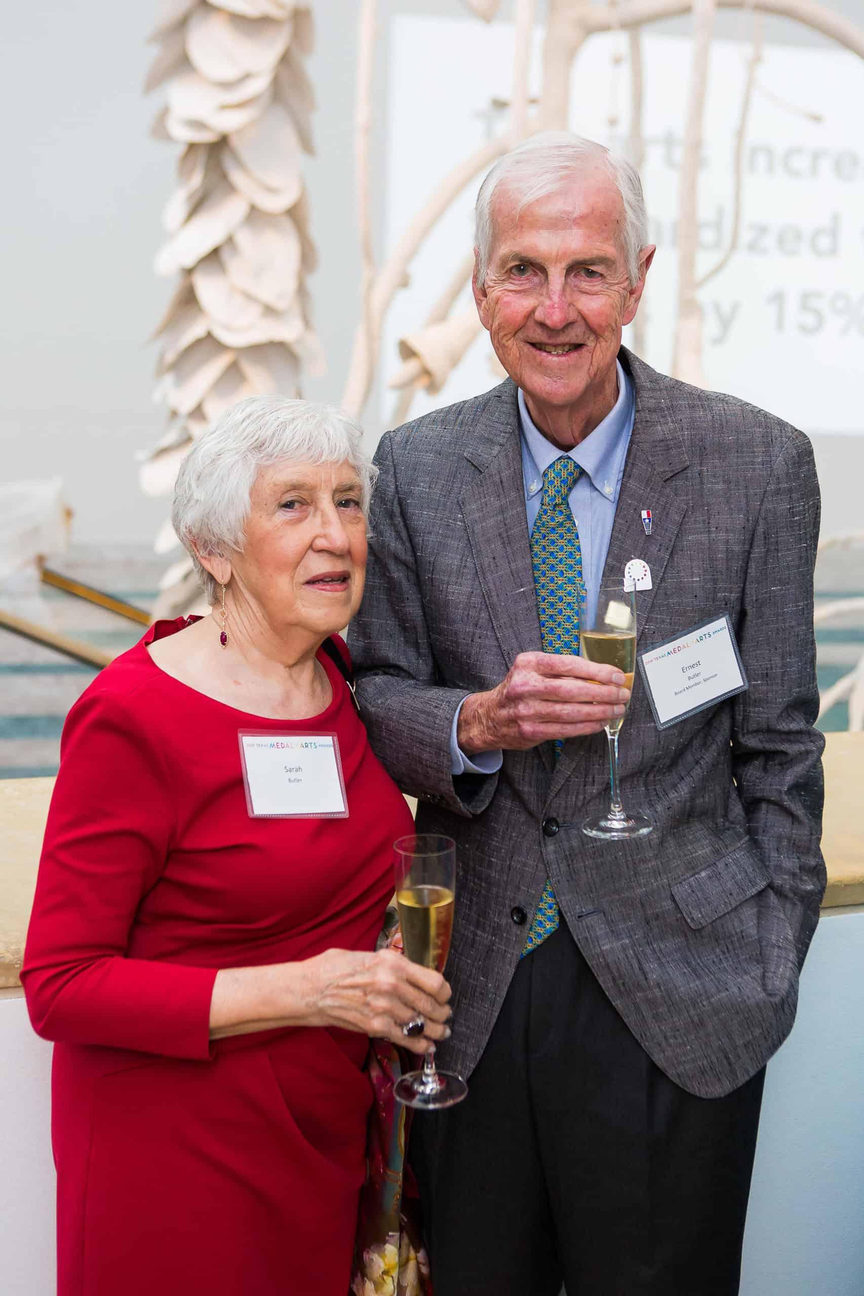 Sarah and Dr. Ernest Butler