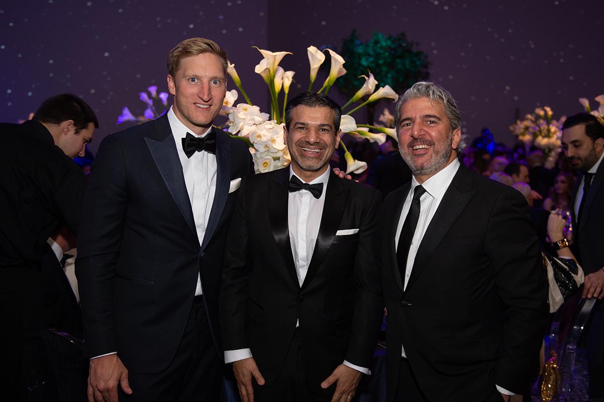 Scott Arnoldy, Akbar Mohamed and Salim Zakhem