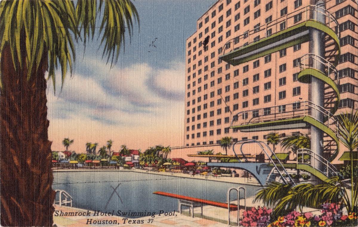 Shamrock Hotel Houston 1940s