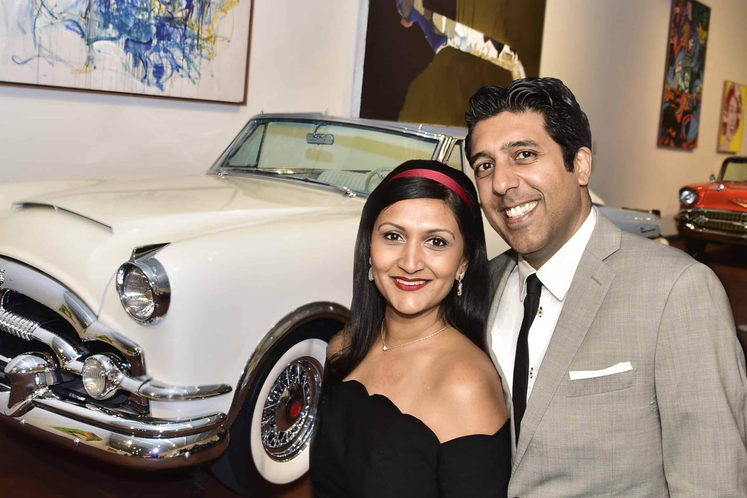 Sonali and Amit Mehta