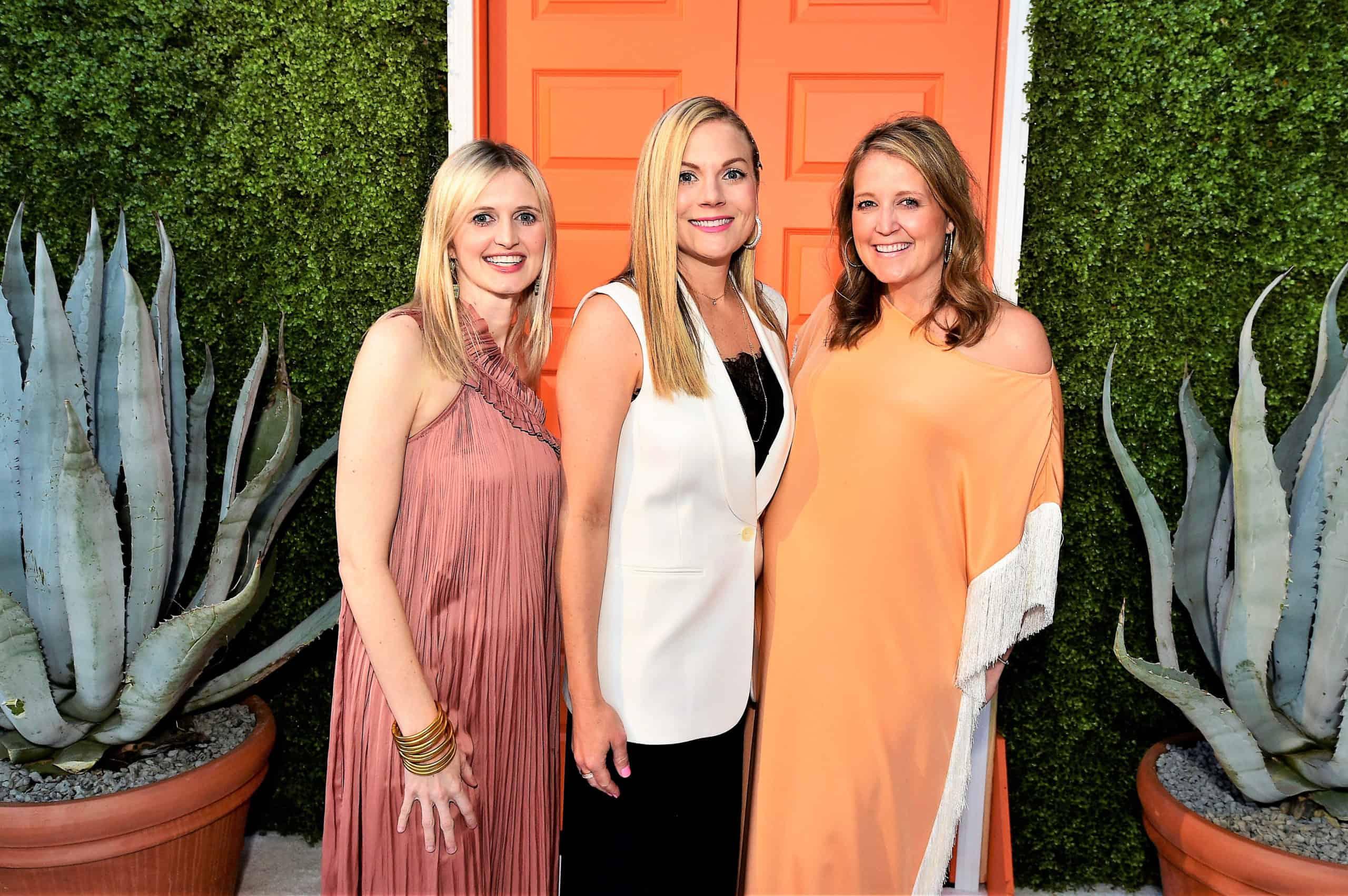 Stacy Hoyt, Stephanie Bailey and Elizabeth Marceau