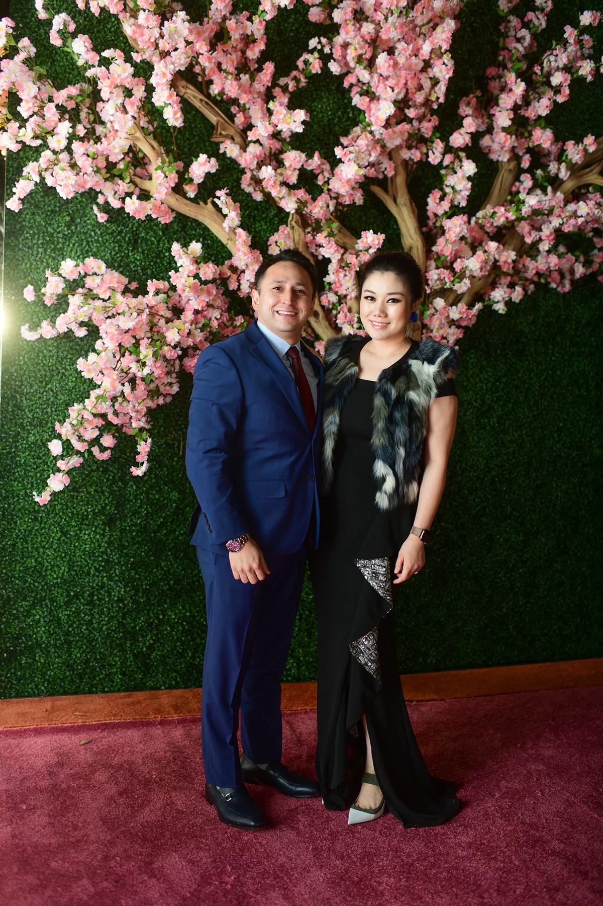 Stephen Le and Tiffany Le,Jr