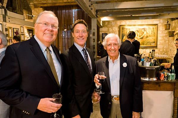 Steve Allen, John Wallace and Roger Cameron