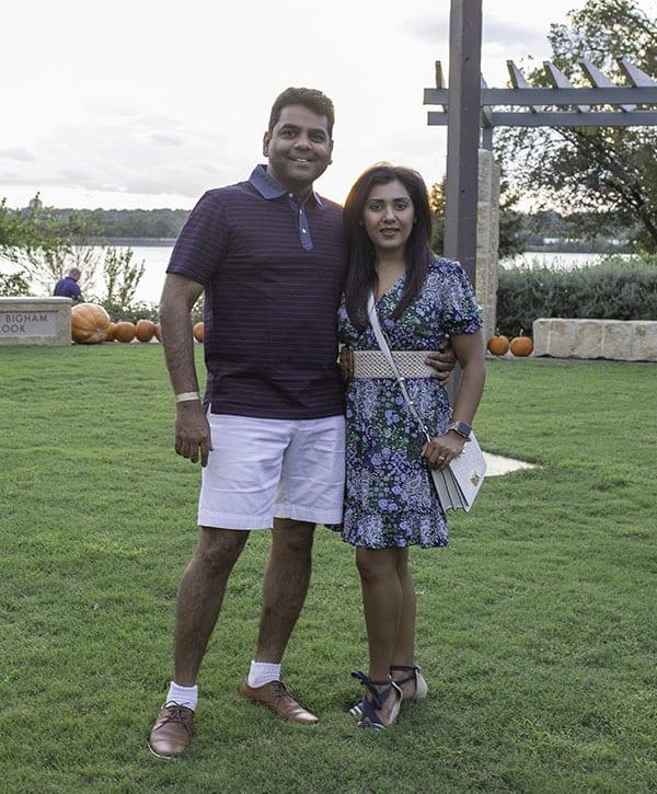Suman and Tanya Chepuri