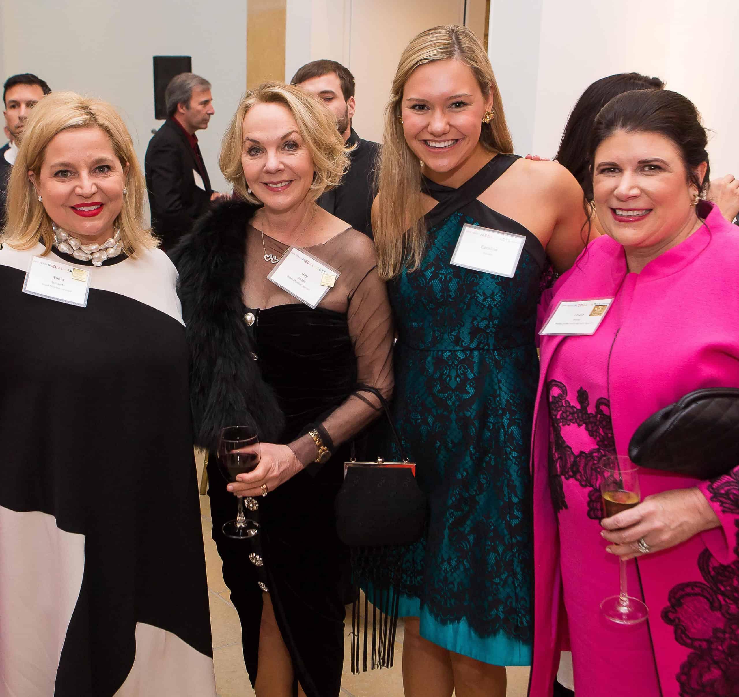 Tania Schwartz, Gay Gaddis, Caroline Craven and Leslie Ward