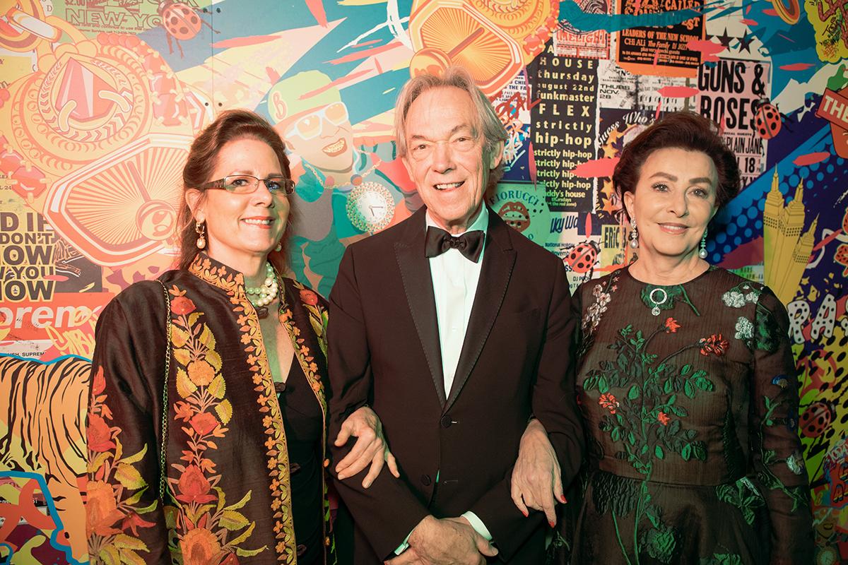 Tara Tooke, Kenneth Blasingame and Mercedes Bass