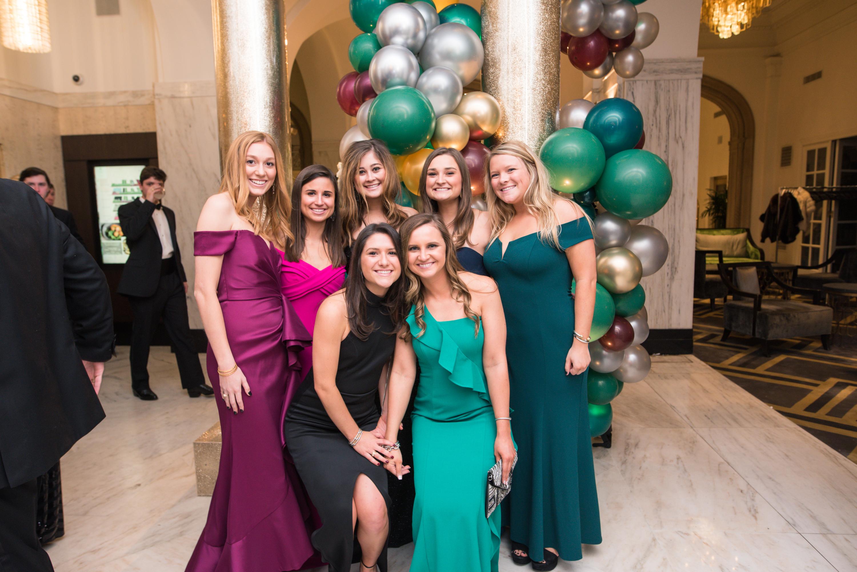 Taylor Whitlock, Emmy Demeris, Madeline Parker, Erin Brasseux, Maggie Little, Kathryn Olive and Kelly Scott