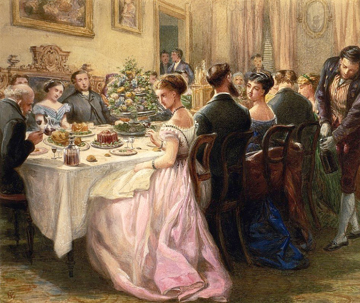 The Dinner Party. By Sir Henry Cole