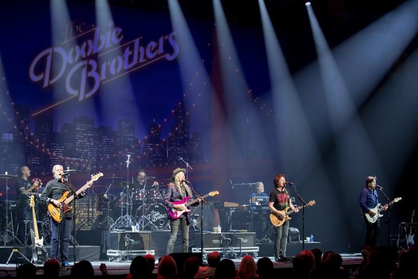 The Doobie Brothers perform