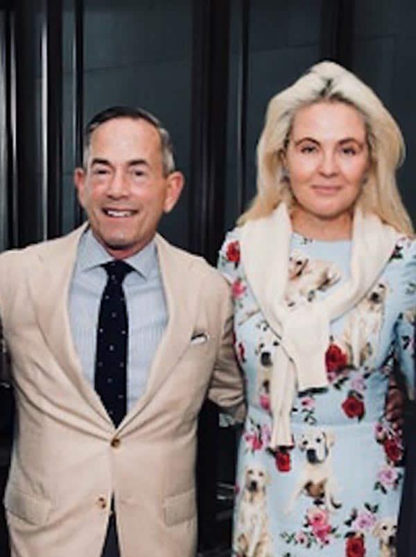 Todd Romano and Cornelia Guest