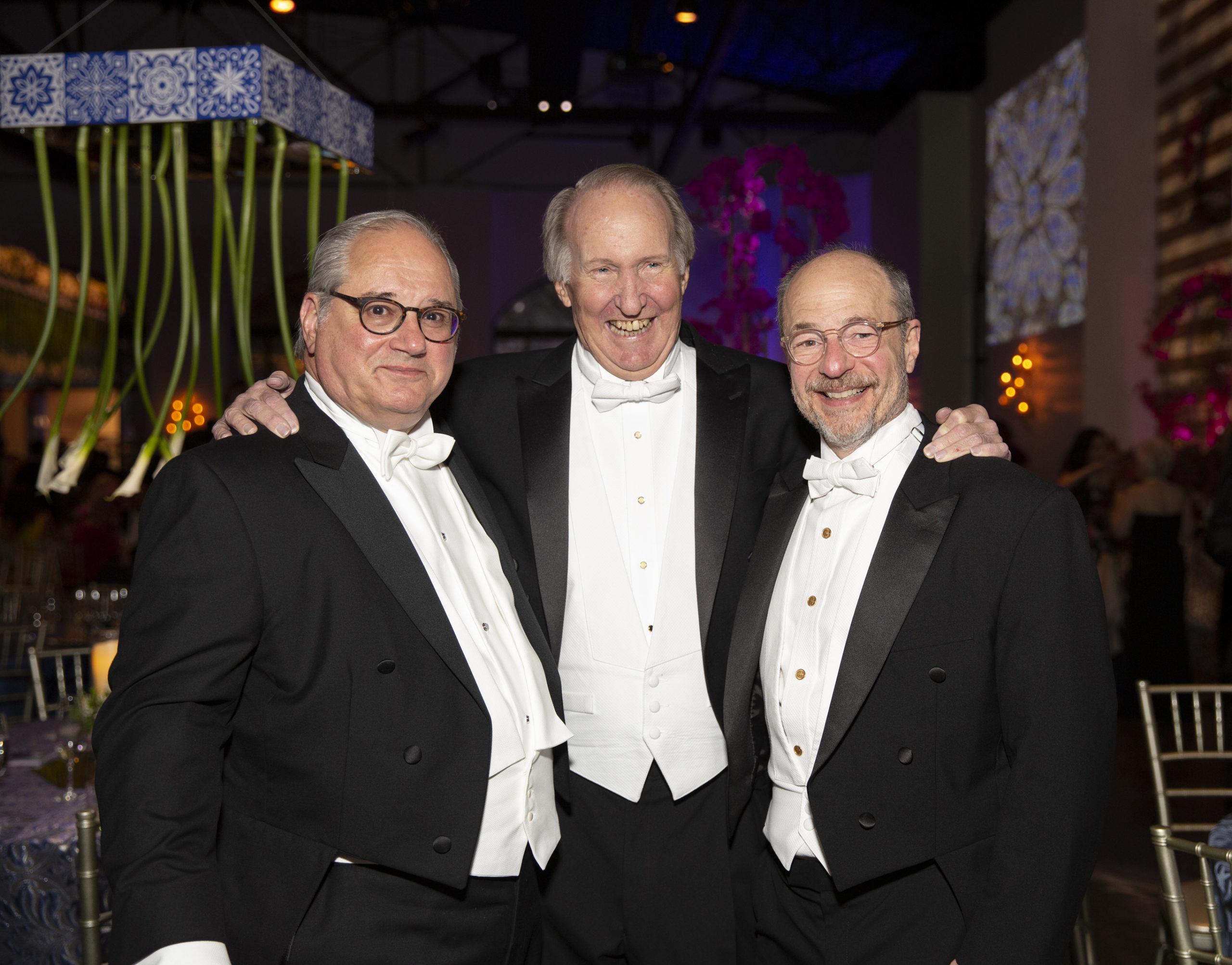 Tony Petrello, Jim Crownover and Sam