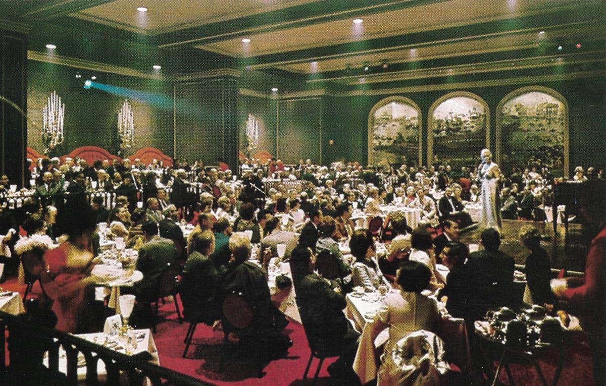 Venetian Room At The Fairmont Hotel, 1970