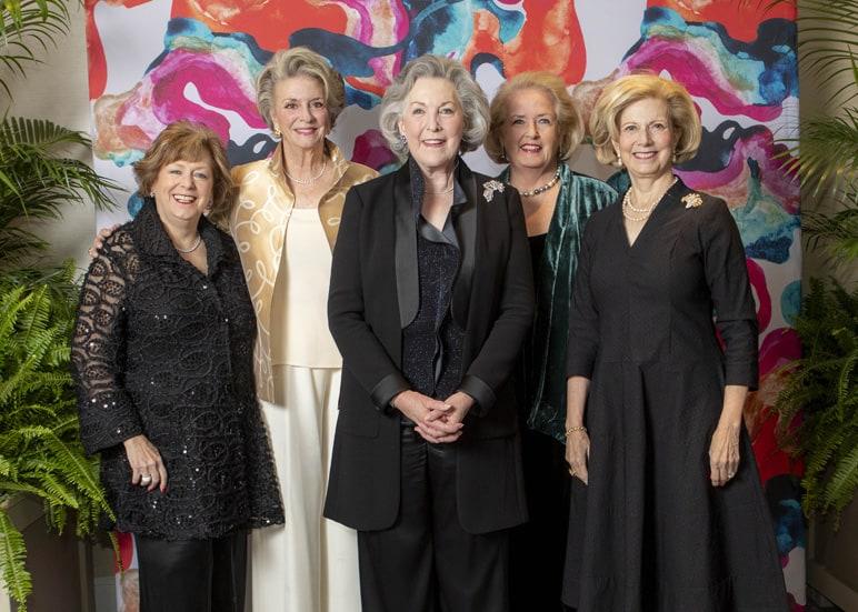 Vickie Roan, Lolla Page, Beth Granger, Nancy Harper and Rita Kriesle