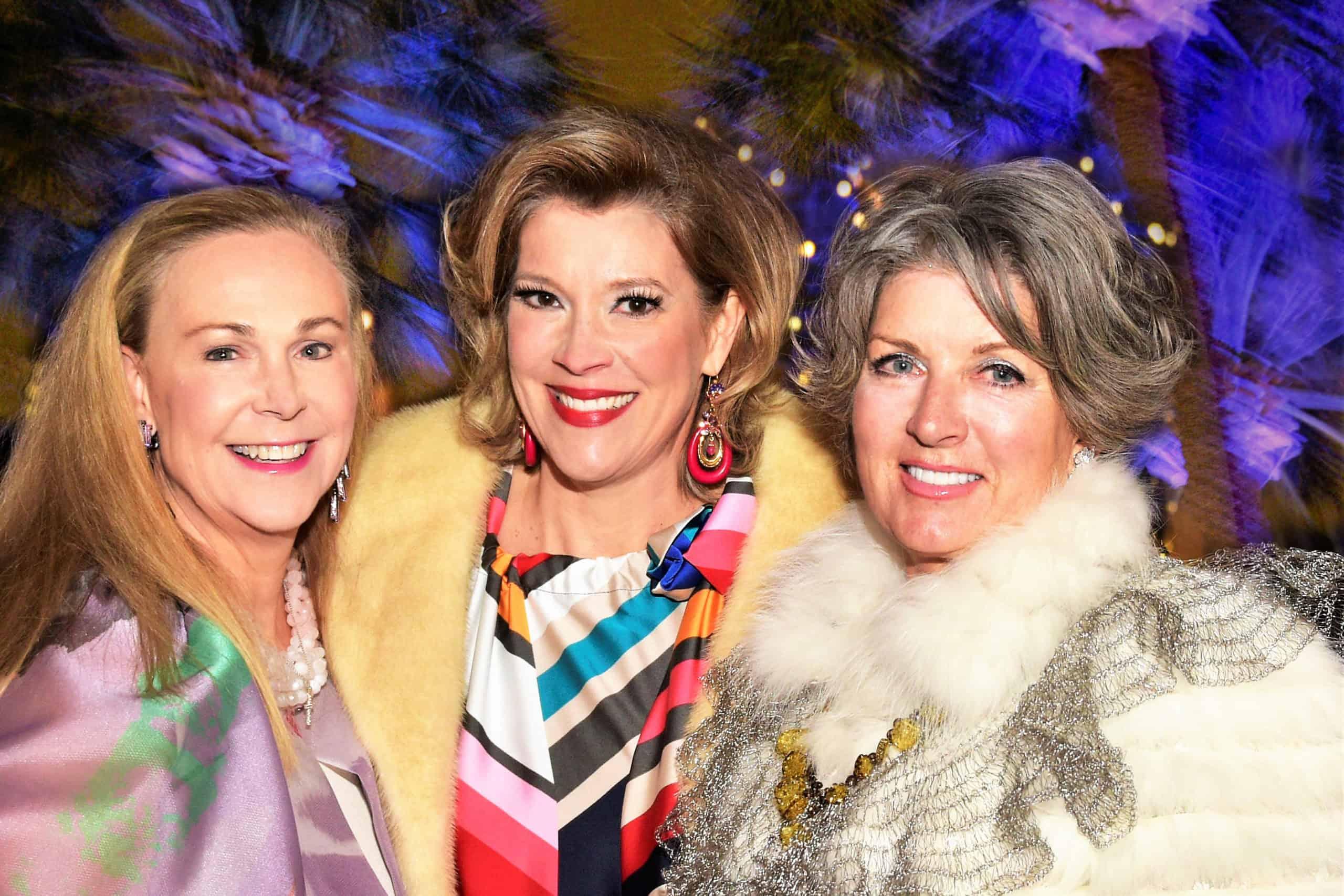 Wendy Wirth, Caroline Carrington and Alice Foultz