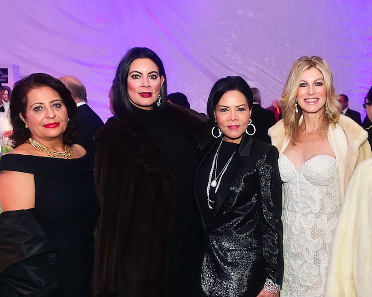 Zeba Yusuf, Evelyn Greenhouse, Nini Hale and Laura Whalen