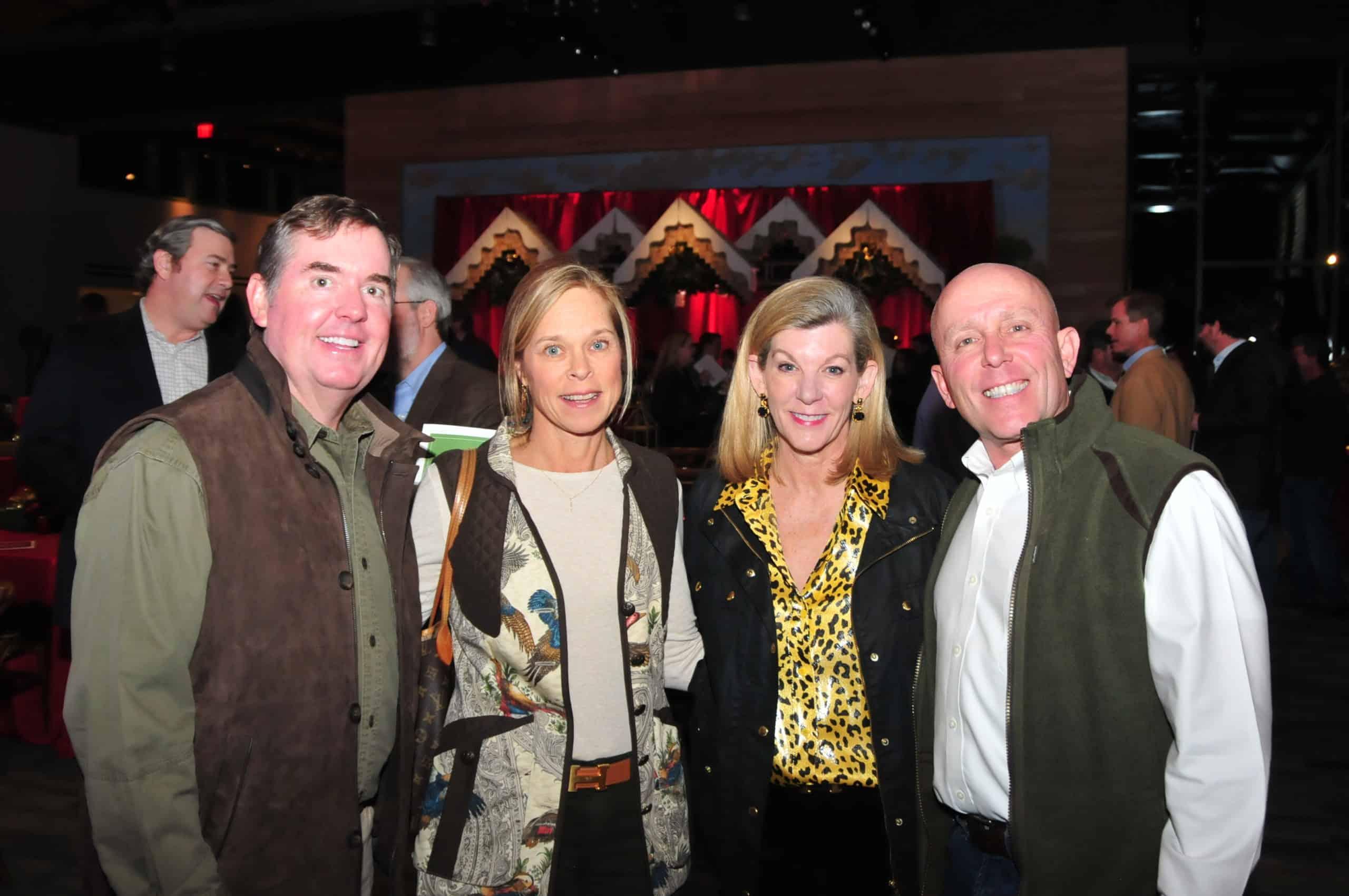 Larry Cochran, Doreen Magoon, Jody Cochran and Dr. Mike Magoon
