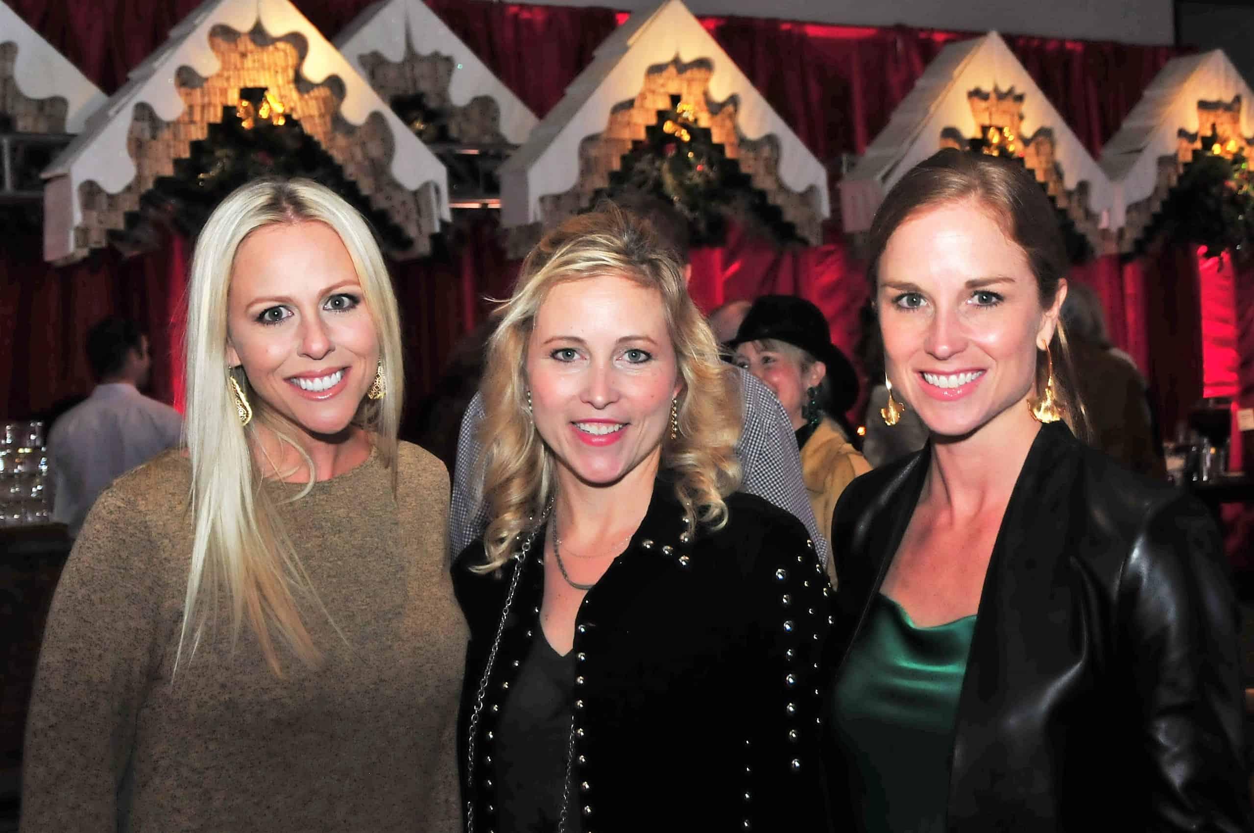 Lindsey Ashcroft, Courtney Percy and Stacy Smaistrla
