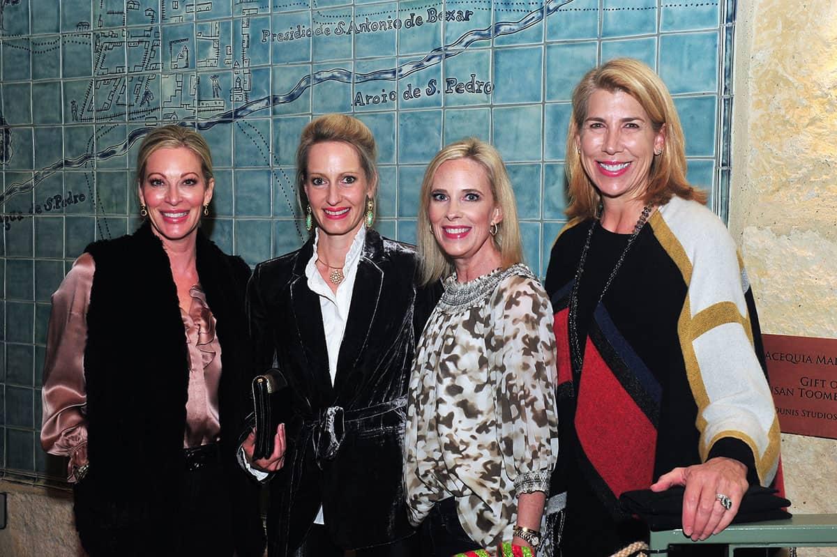 Heather Affleck, Hannah Beaver, Elizabeth Dewar and Linda Blount