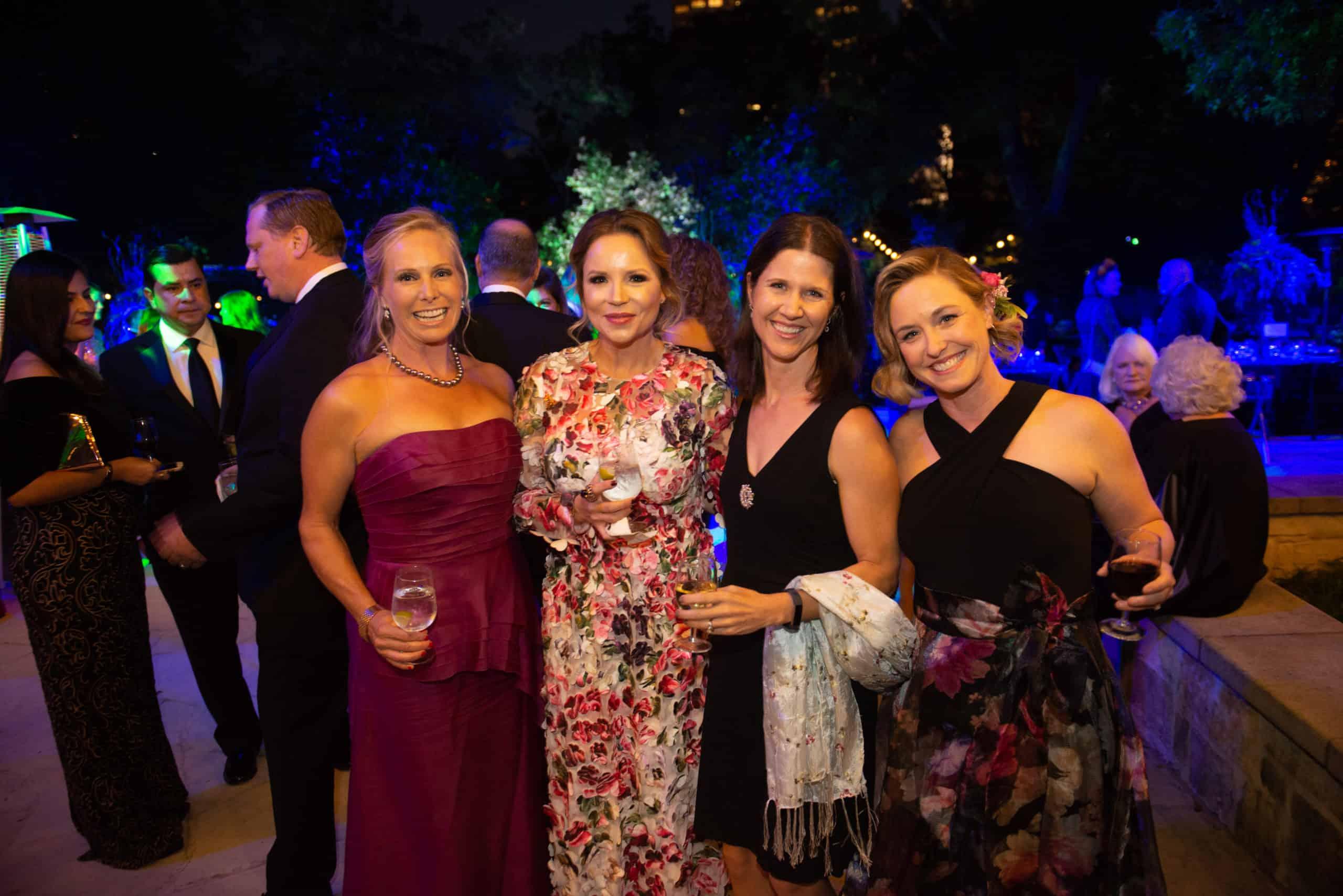 Ann Cross, Ana Leah Montemayor, Michelle Head, and Jessica Mewborne