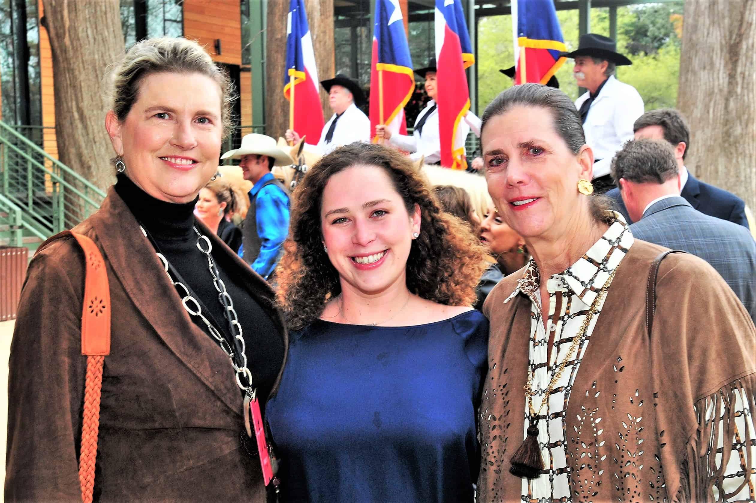 Cina Forgason, Sophie Larkin and Linda Yarborough