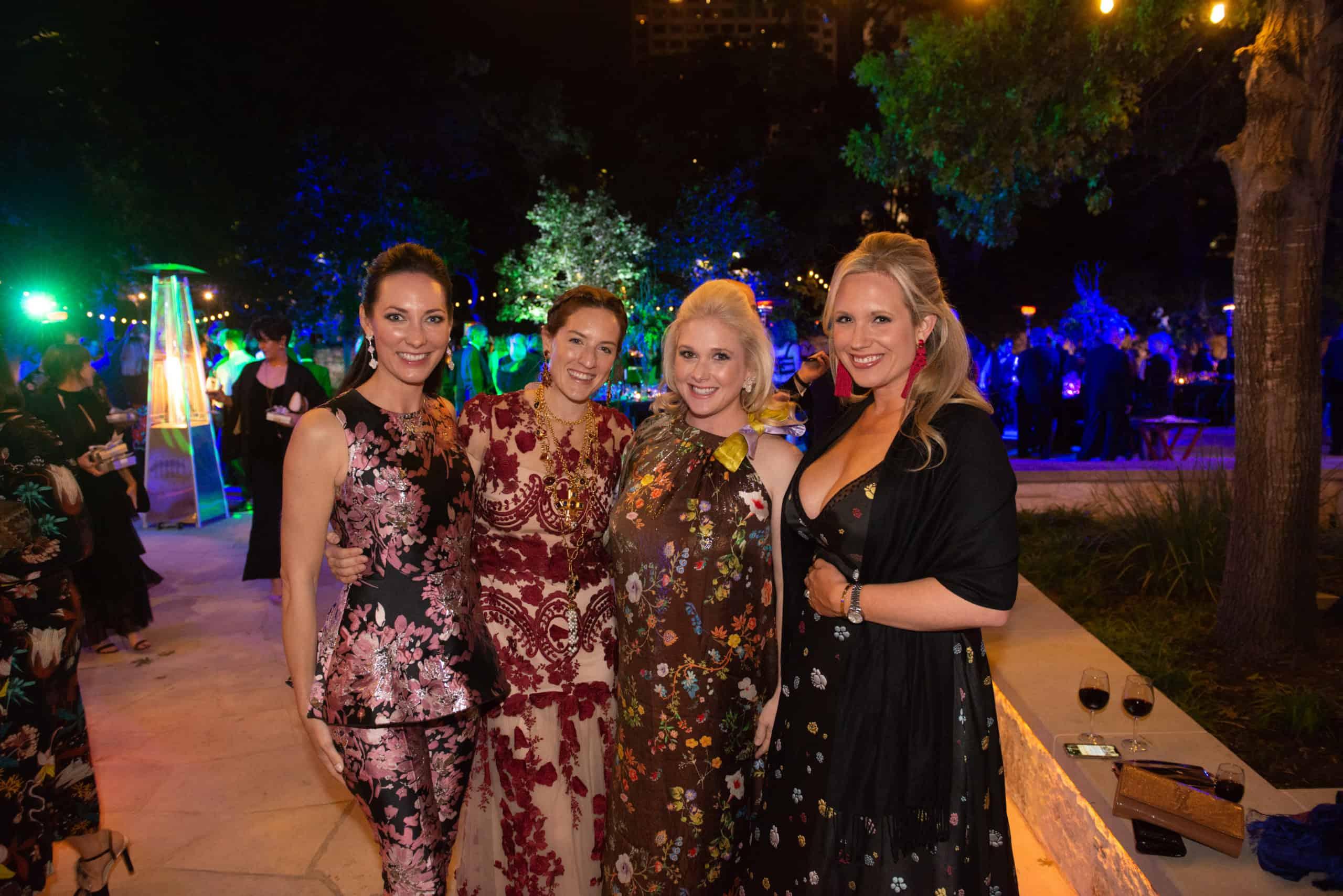 Corinna Richter, Mal Moorman, Christina Ketabchi and Ashley Friedman