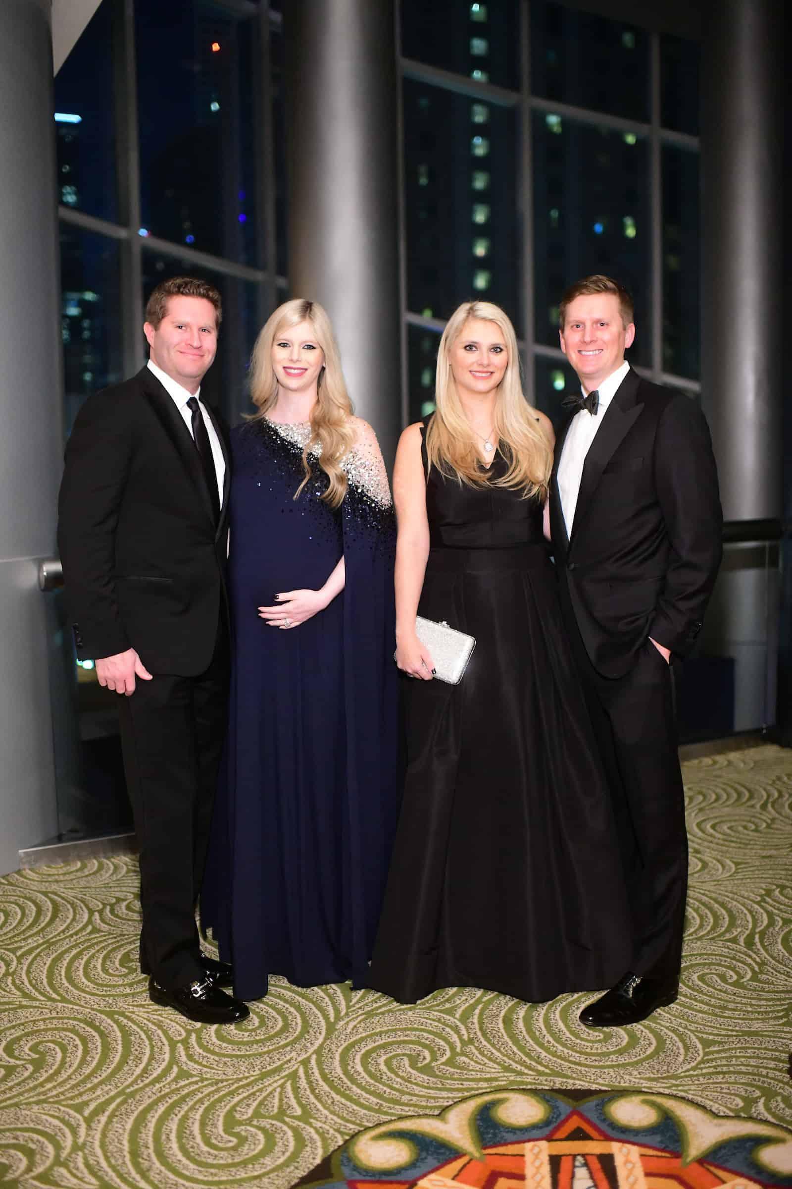 Evan and Kimberly Scheele & Christine and Bill Gutknecht