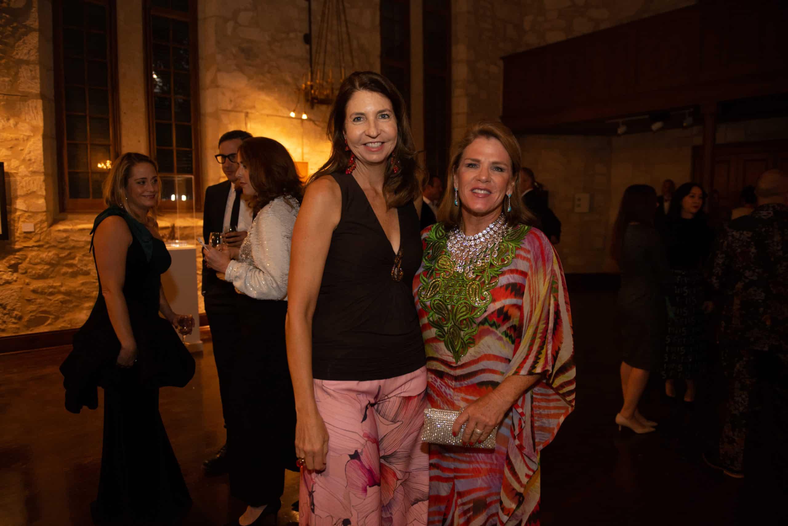 Francie Mannix and Bonnie Chumbley