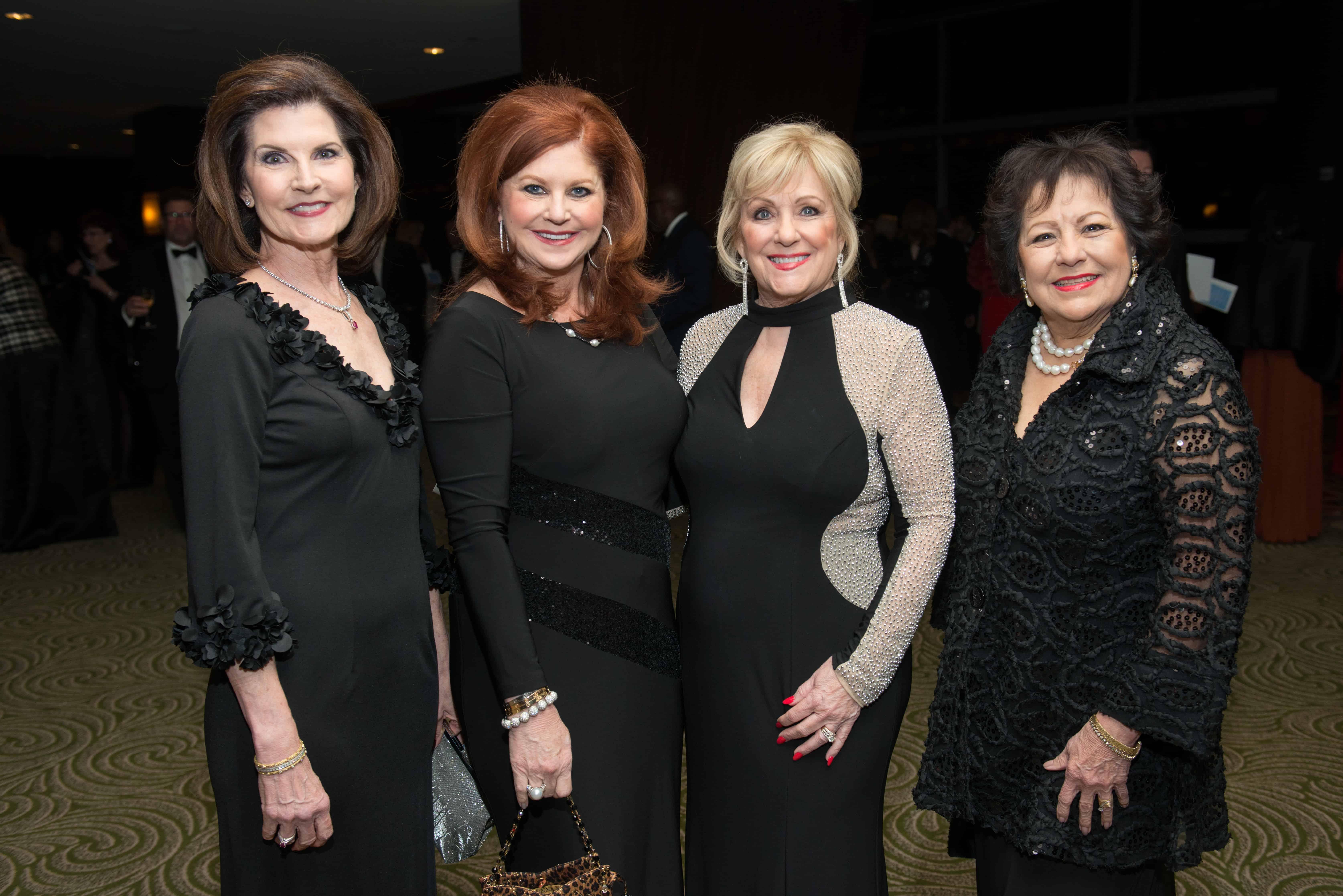 Jane Brann, Laura Kent, Pam Springer and Barbara Johnson